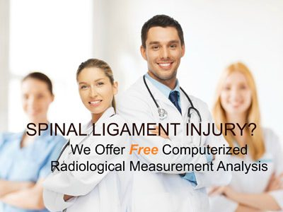 Spinal Ligament Injury Treatment Call  602-449-9430